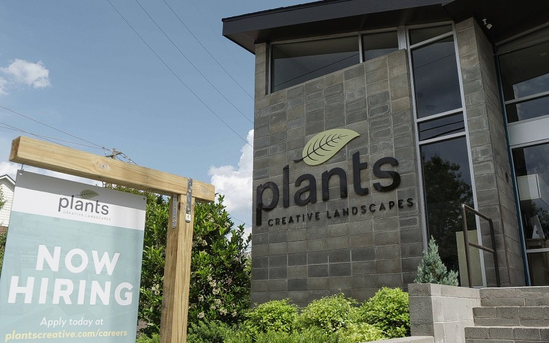 Plants Creative Landscapes' East College Location