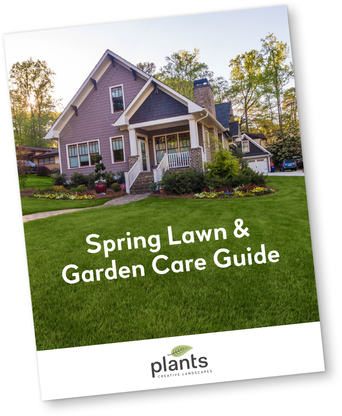 Spring lawn and garden care pdf cover